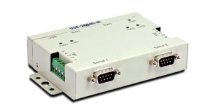 Vscom USB-2COMi Si-M, an USB to 2 x RS422/485 serial port converter DB9 and terminal block connector, isolated signals