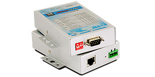 VScom NetCom 113 PRO, a Serial Device Server for Ethernet/TCP to RS232/422/485